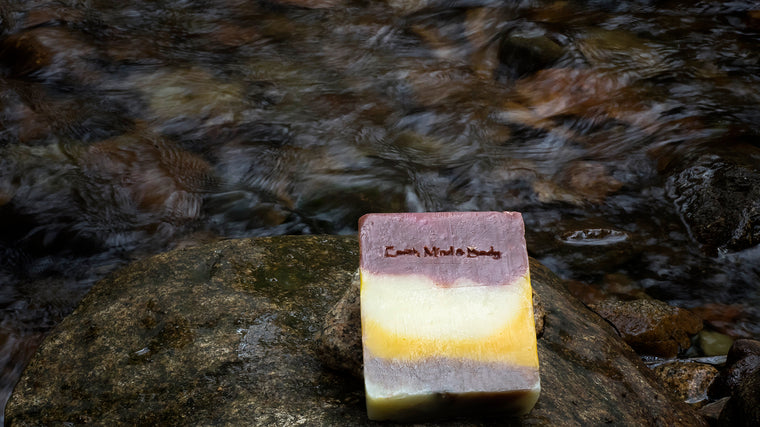 Grapefruit & Lime All Natural, Mostly Organic Body Soap
