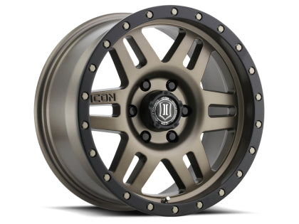 ICON Six Speed 17x8.5 5x150 Tundra/Landcruiser fitment