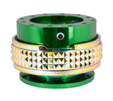 Quick Release Gen 2.1 - Green / Neochrome Pyramid Ring