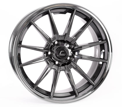 Cosmis R1 Pro 18x10.5 +32mm Offset 5x100- Black Chrome