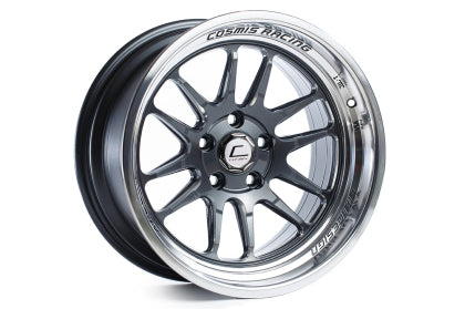 Cosmis XT-206R 18x9.5 +10mm 5x114.3- Gun Metal w/ Machined Lip
