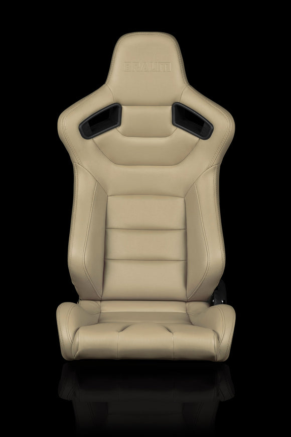 ELITE SERIES RACING SEATS (BEIGE) – PAIR