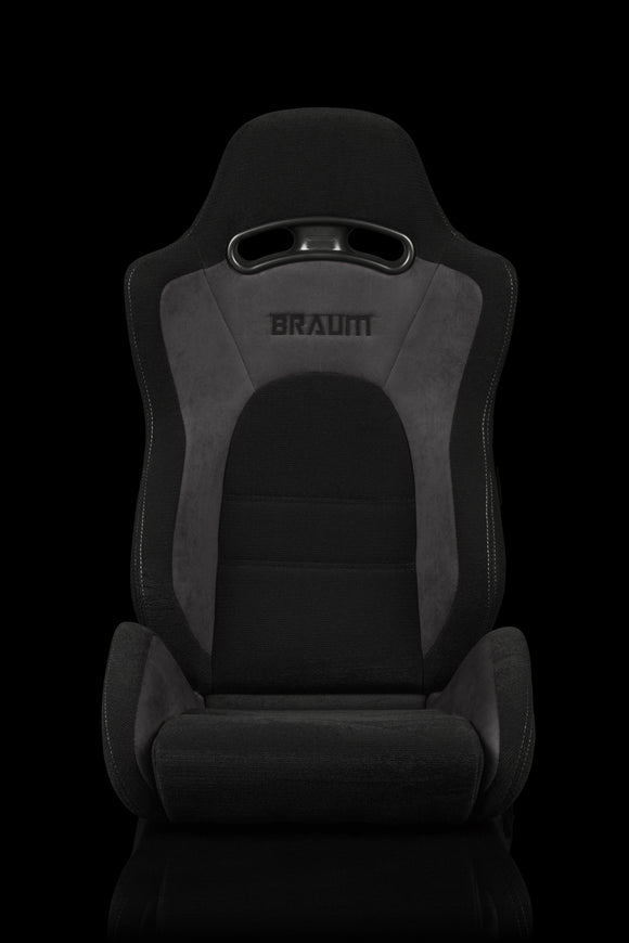 S8 SERIES RACING SEATS (GRAY & BLACK) – PAIR