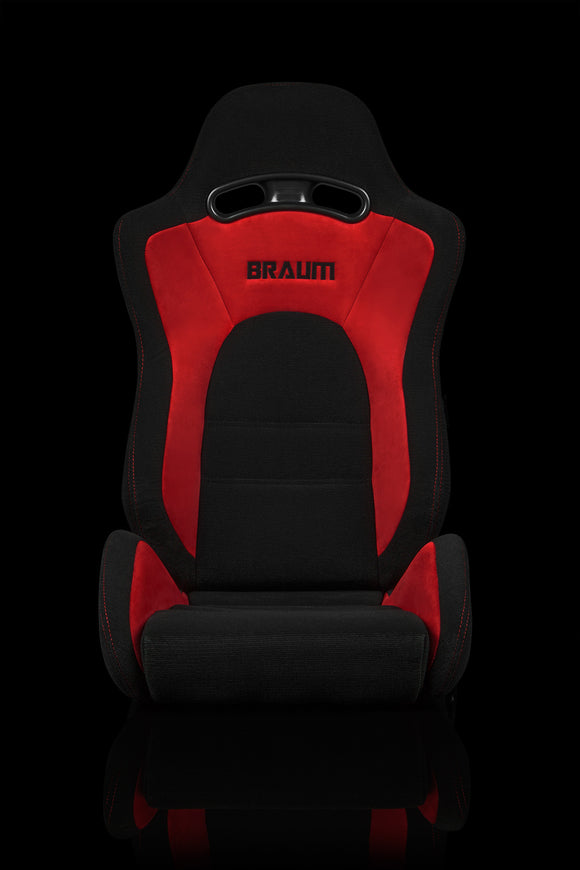 S8 SERIES RACING SEATS (RED & BLACK) – PAIR
