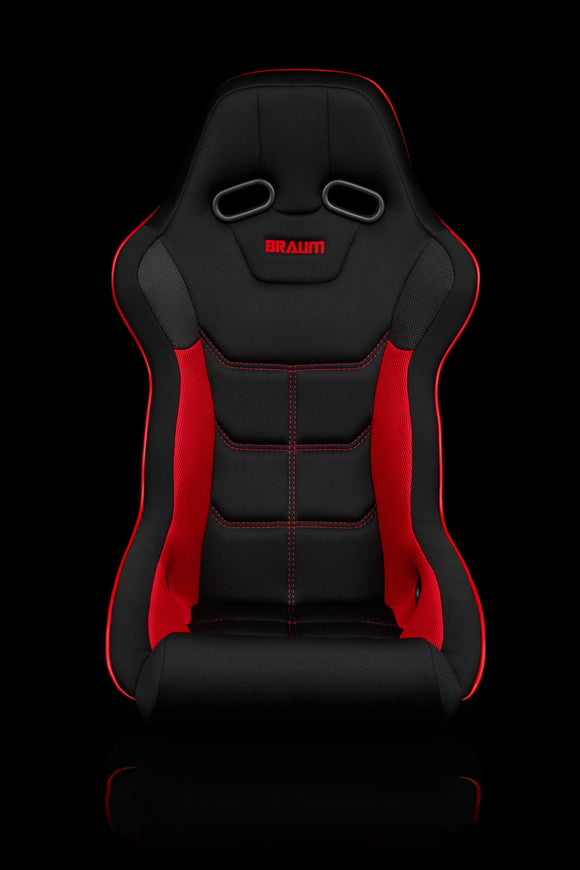 FALCON X SERIES FIA APPROVED FIXED BACK RACING SEAT (BLACK & RED)