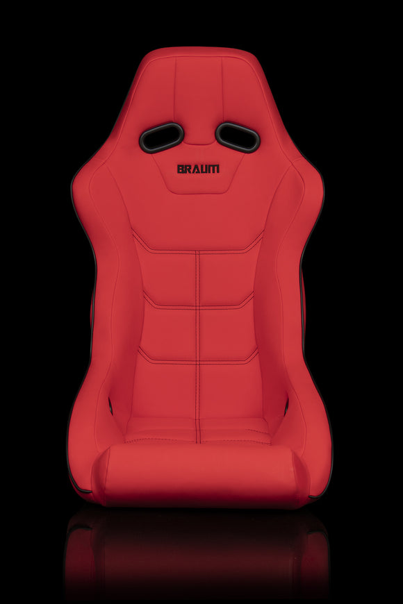 FALCON X SERIES FIA APPROVED FIXED BACK RACING SEAT (RED ULTRA GRIP)