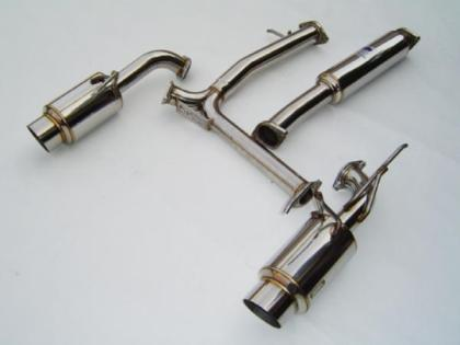 02-06 Nissan 350z Exhaust System