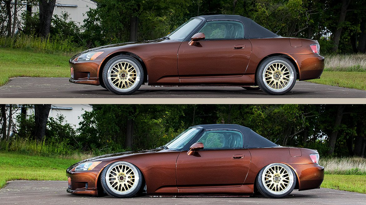 Honda S2000 Air Lift Suspension