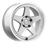 "Kansei KNP 18"" Hyper Silver Wheels (with machined lip)"