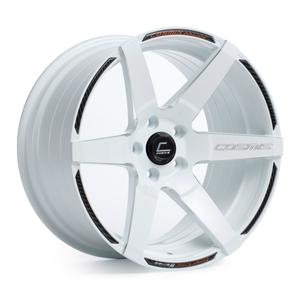 Cosmis S1 18x9.5 +15mm 5x114.3- White w/ Milled Spokes