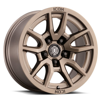 ICON Vector 5 17x8.5 LandCruiser/Tundra Fitment