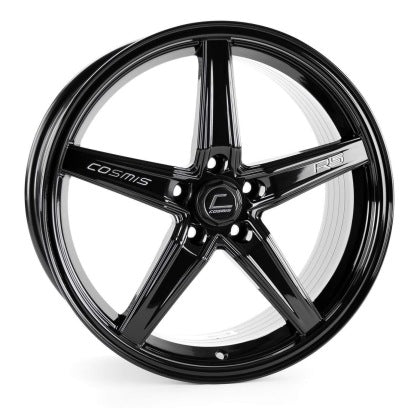 Cosmis R5 18x8.5 +40mm Offset 5x108- Black