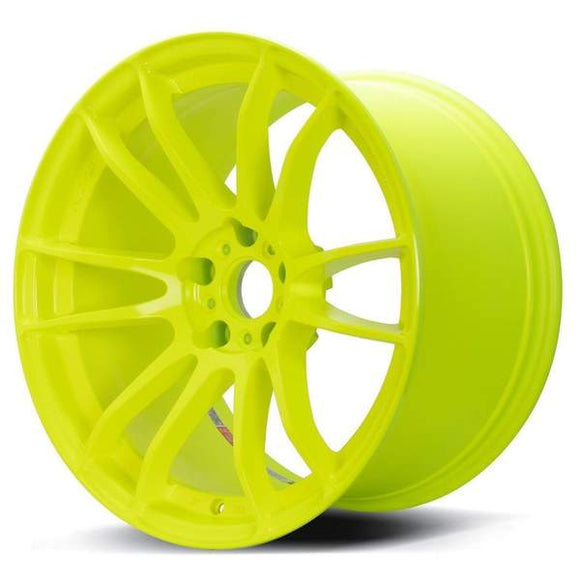 RAYS Gram Lights 57XTREME Spec-D 18x9.5 +38 5x100 Luminous Yellow