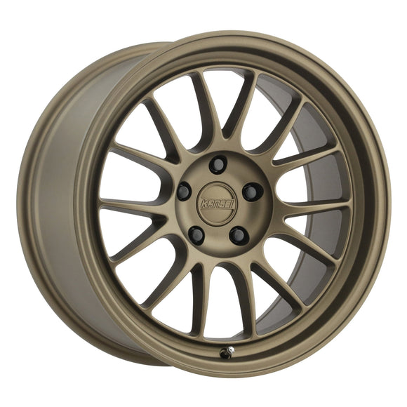 Kansei Corsa Textured Bronze Wheels