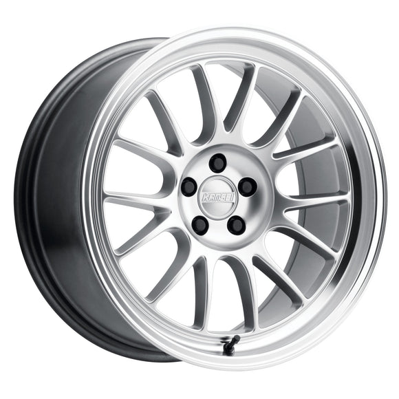 Kansei Corsa Hyper Silver Wheels (with machined lip)