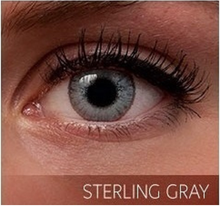 Sterling Gray Contacts - Colored Contacts - Color Contact Lenses - 3 Tone