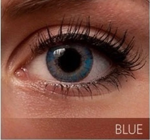 colored contact lenses blue 3 tone - for dark eyes - Color Contacts
