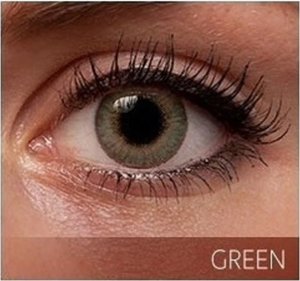 GREEN Premium 3 Tone Color Contact Lenses