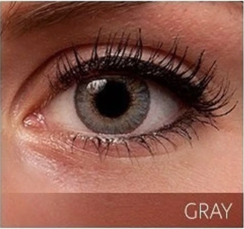 Gray Colored Contacts - Color Contacts - Colored Eye Contacts