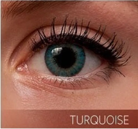 Turquoise Contact Lenses - Colored Contact Lenses - Color Contacts