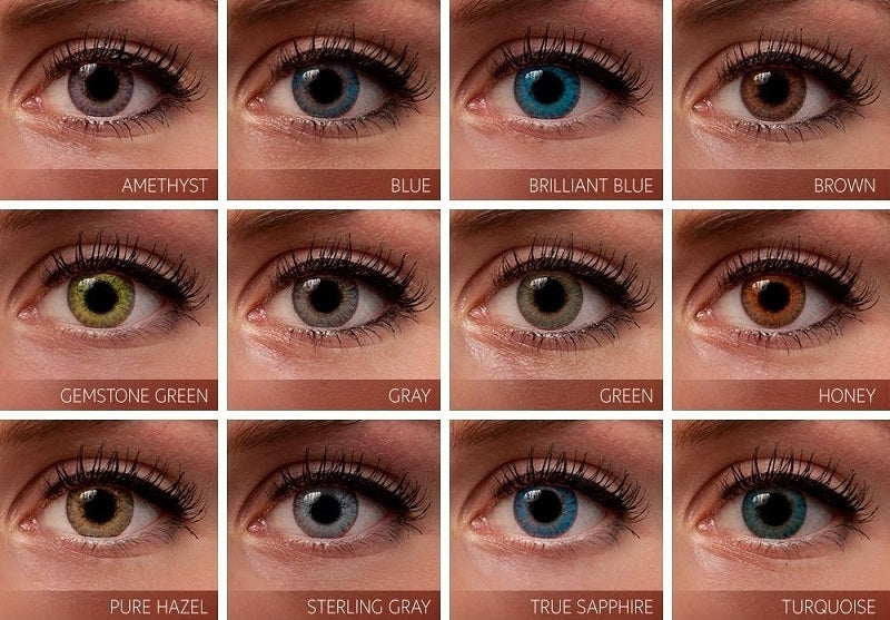 Non Prescription Colored Contacts >> Brown Premium 3 Tone Color Contact Lenses