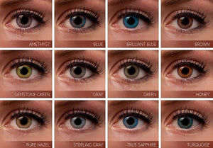 3 Tone Contacts - Colored Lenses - Color Contacts For Dark Eyes