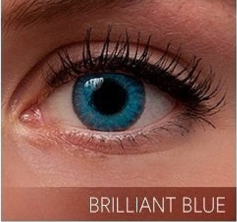 Brilliant Blue Contacts - Colored Contact Lenses