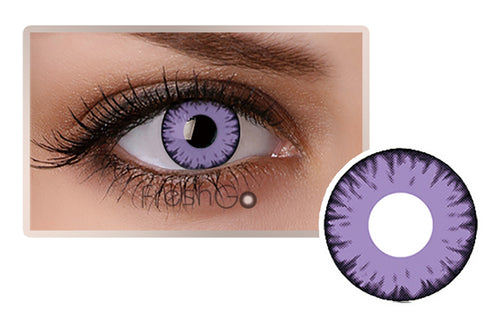 PURPLE Halloween SFX Crazy Color Contact Lenses A28