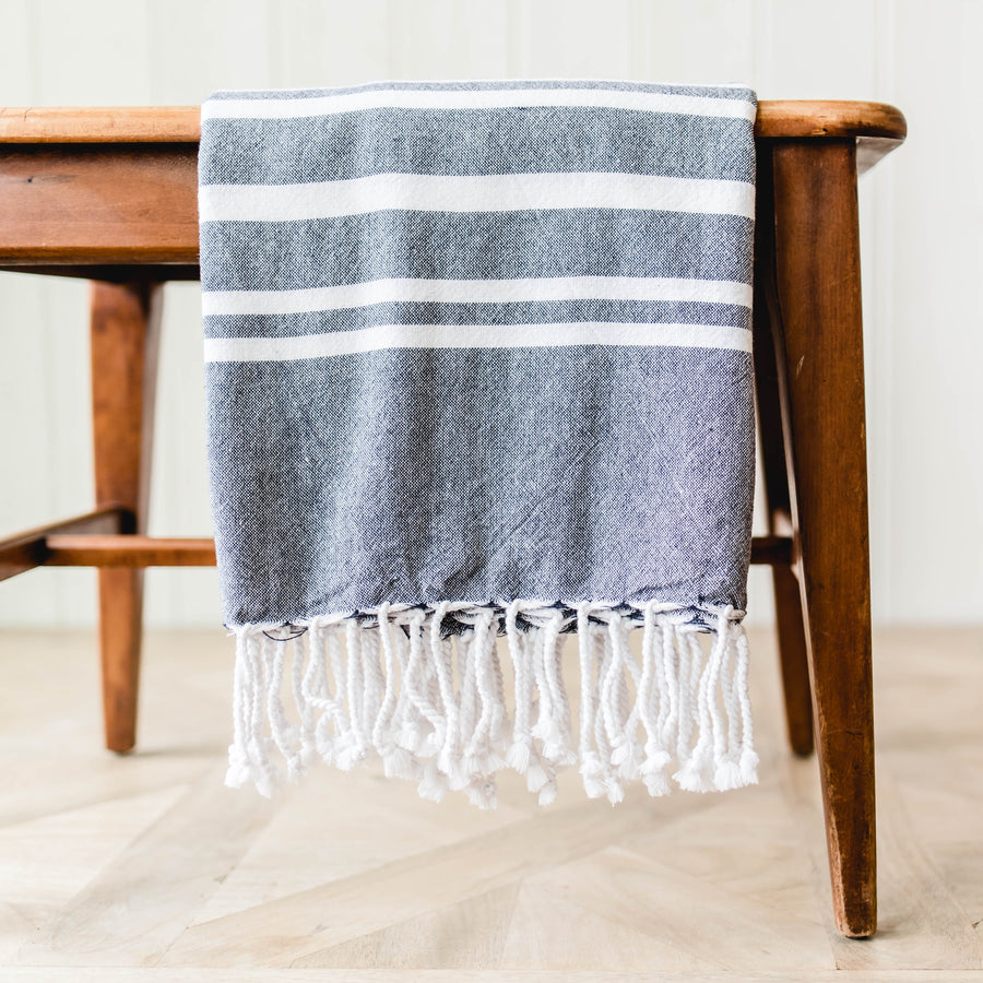 Border Stripe Throw
