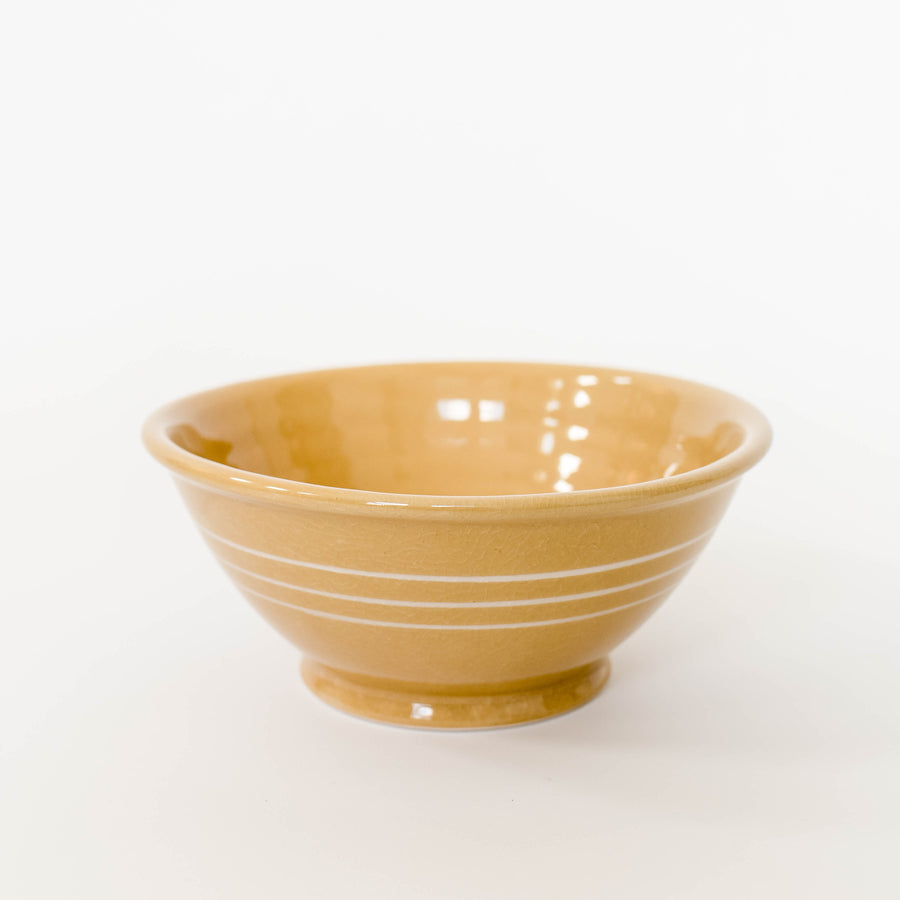 Footed Stoneware Bowl