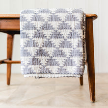 Quilted Throw - Stone