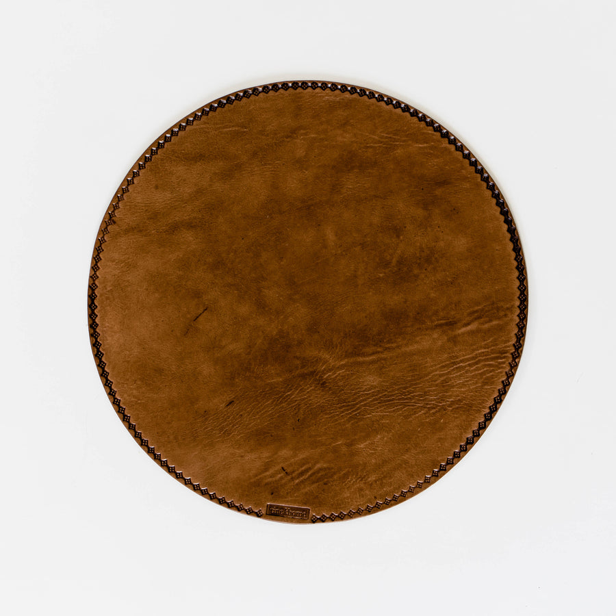 Weathered Leather Placemat