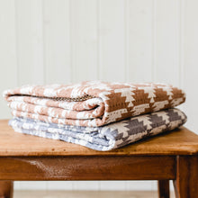 Quilted Throw - Camel