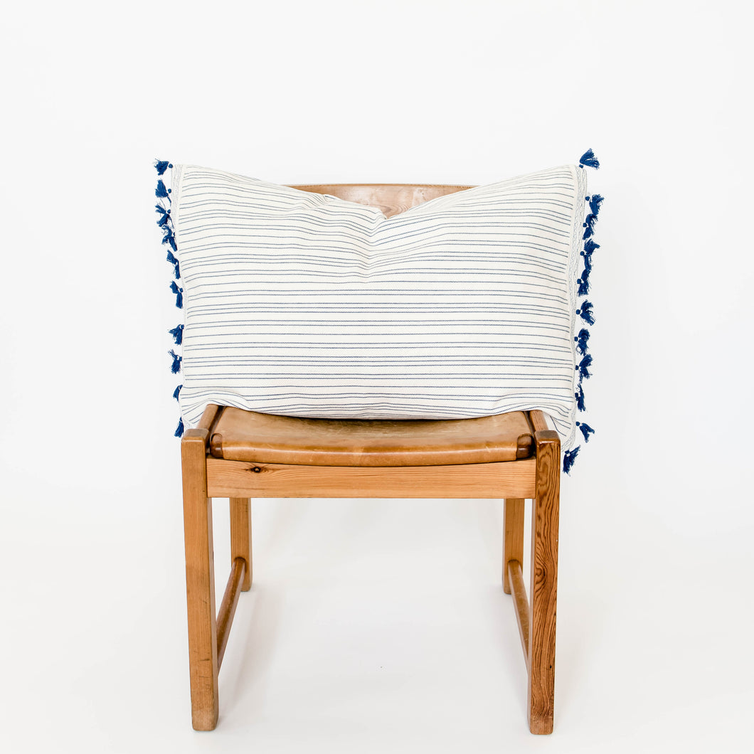 Handwoven Accent Pillow - Rectangle