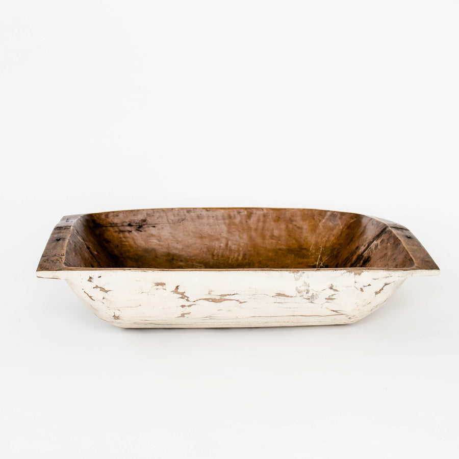 Rustic Dough Bowl