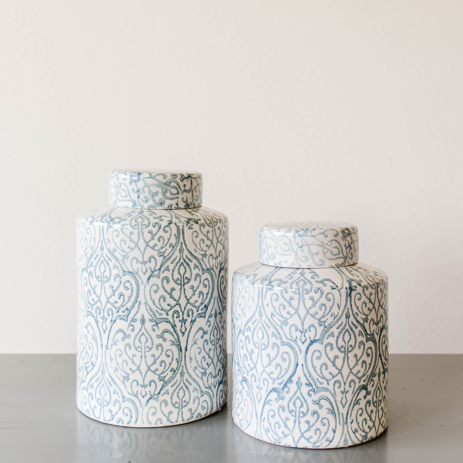 Paisley Ceramic Jar