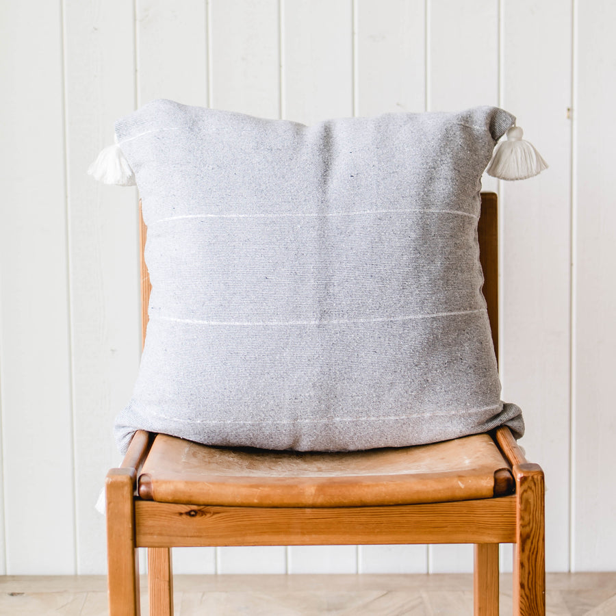 Tassel Accent Pillow - Square