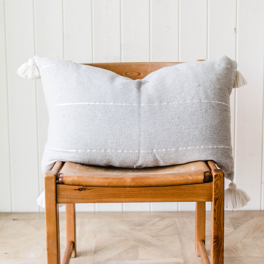 Tassel Accent Pillow - Rectangle