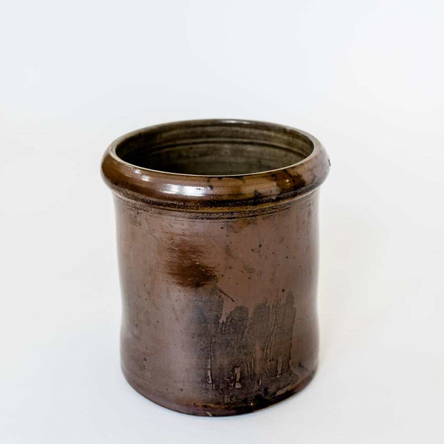 Southern Stoneware Brown Crock