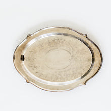 Silver Tray - Scalloped