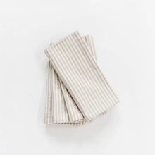 Ticking Stripe Napkin - Beige
