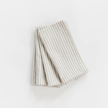 Ticking Stripe Napkin - Grey