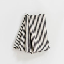 Ticking Stripe Napkin - Black
