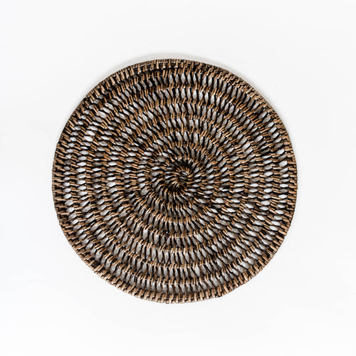 Open Weave Rattan Placemat
