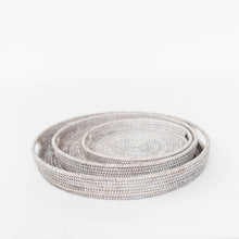 Round Woven Serving Trays