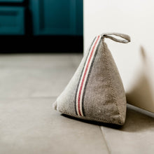 Racing Stripe Weighted Doorstop