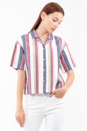 Amber Shortsleeve Shirt in Liberty