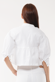 Astrid Blouse in White
