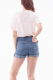 Beth High Rise Shorts in Labor