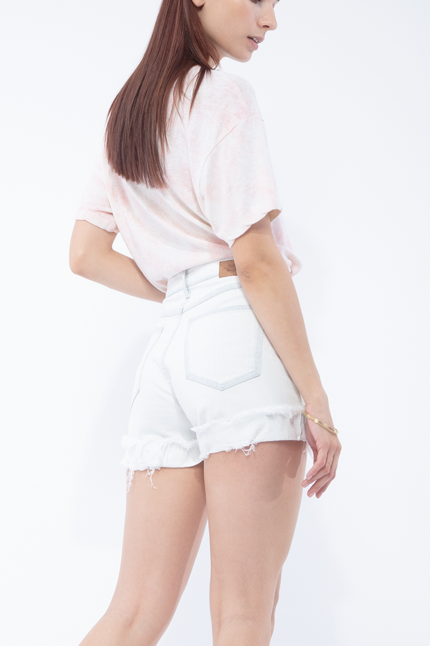 Beth High Rise Shorts in Ace